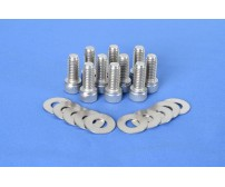 Stainless Steel Differential Cover Bolt Dress Up Kit