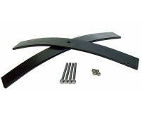 "Rear Add A Leaf Kit for 21"" x 2.5"" Wide Leaf Spring Pack"