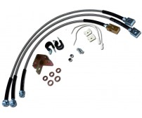 Jeep Stainless Steel Brake Line Kit for XJ TJ YJ ZJ